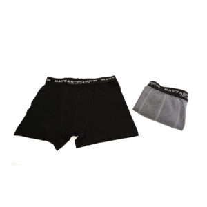 VistaBazaar Ανδρικά Boxer 2 Τεμάχια Μαύρο-Γκρι